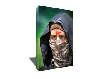 FREE SHIPPING The Walking Dead's Ninja Carol Canvas Art
