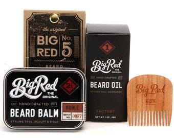 Big Red Beard Kit - The Three-some