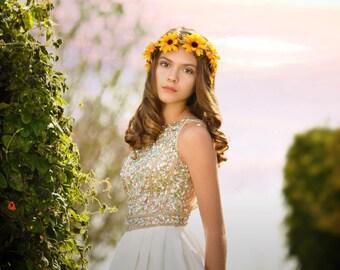 Sunflower Halo