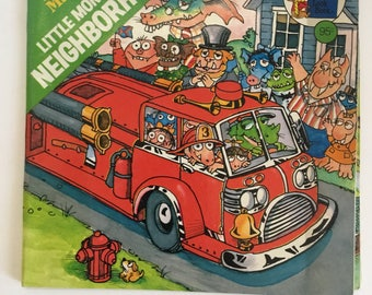 Vintage 1978 Little monster's neighborhood (A Golden look-look book) by Mercer Mayer
