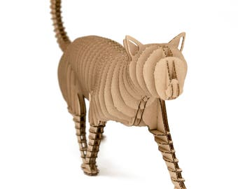 Filemon - cat cardboard figure