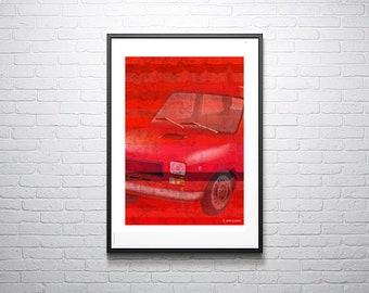Fiat, retro car