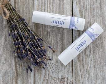 Organic Lavender Lip Balm