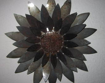 3D Sunflower-Metal Art