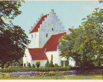 Vintage Denmark Stamped Post Card. 1967?