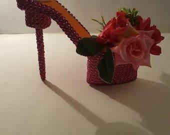 Handmade shoe decor