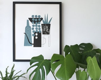 Botanics screen print