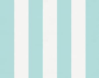 Mist Canopy Stripe Fabric - By The Yard - Boy / Modern / Fabric