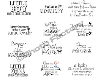 Instant Digital Download,Maternity Overlays,Mommy to Be Overlay,Pregnancy Overlay, Word Overlay, Word Art, Mom to Be Word Art