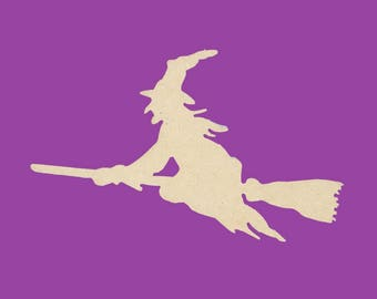 To decorate halloween witch broom holder