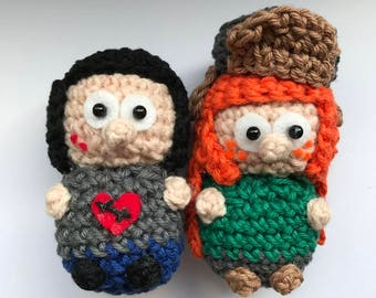 Wendy and Robbie Amigurumi from Gravity Falls