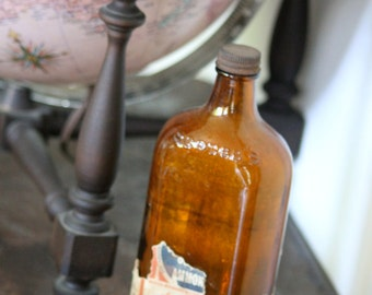 Vintage Scrubbs Fluid bottle - 203mm