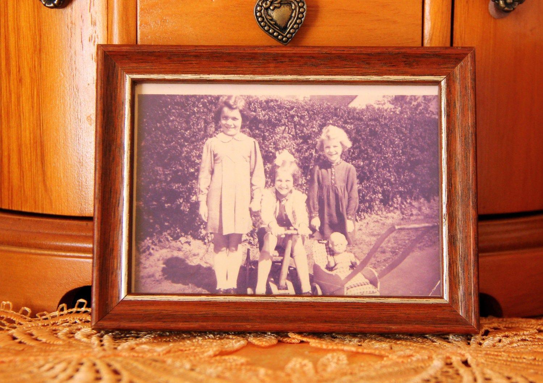 rara Décor casero vieja foto marco madera Marcos shabby chic ...