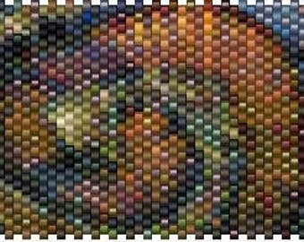 Peyote Stitch Pen Cover Pattern - 03