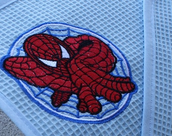 Spiderman towel for baby