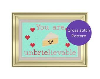 Unbrielievable Cross Stitch Pattern