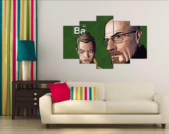 Breaking Bad, Breaking Bad Poster, Breaking Bad canvas, Breaking Bad Wall Art, Breaking Bad print, Breaking Bad art, Breaking Bad decor