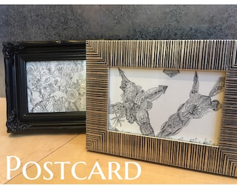 "Postcard ""Cross and Lance"""
