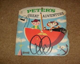 vintagePETER'S GREAT Adventure used