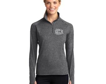 1/2 Zip Athletic Dri-Fit Lightweight Pullover - Monogrammed. Dri-Fit Monogrammed Pullover. Athletic Pullover. SM-LST850