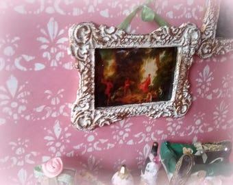 miniature 1/12dollhouse frame