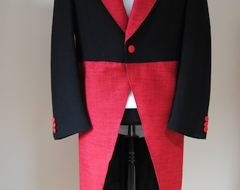 Steampunk wool tail coat size 38