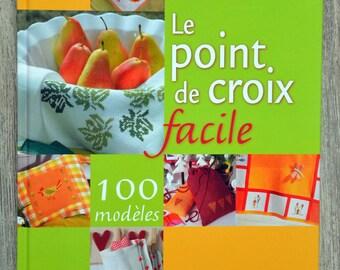 Book - 100 models - Ed easy cross stitch. Burda