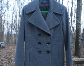 Via Spiga Fitted Coat Size 8