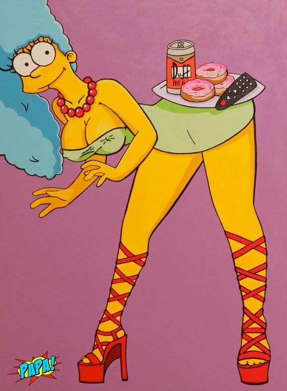 Simpsons sex marge
