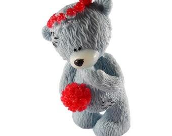 Handmade souvenir soap Teddy Bear