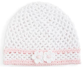 Hand Crocheted Child's Hat