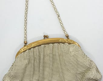 1940's | Vintage Whiting and Davis | mesh purse w/comb