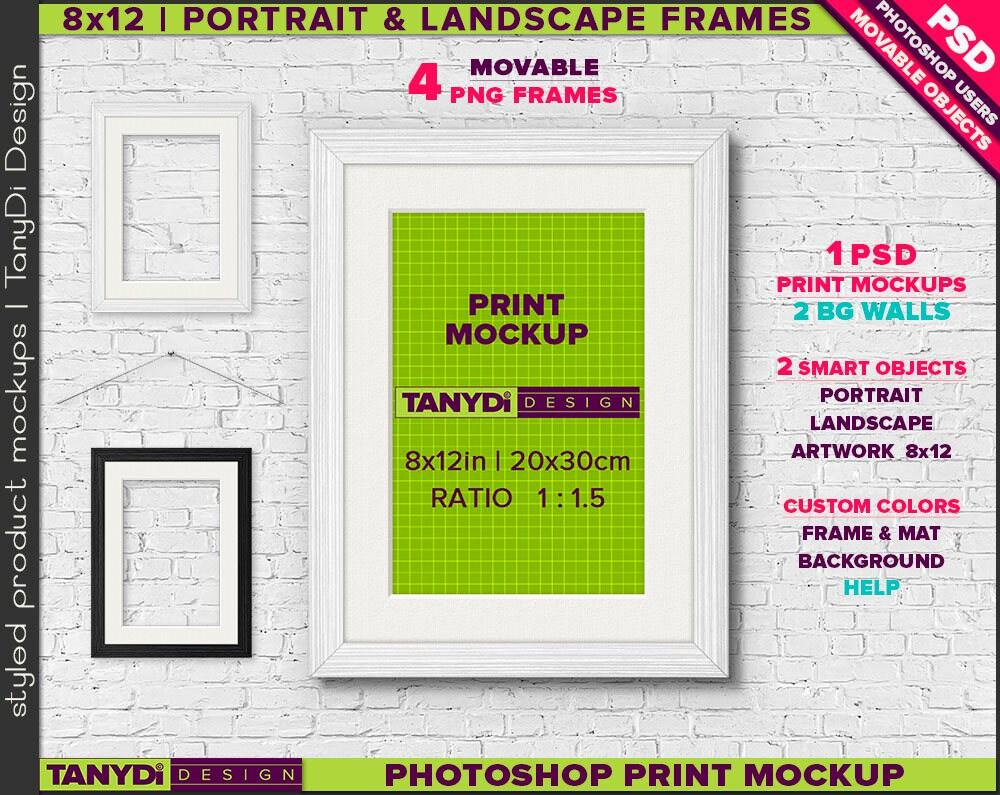 Fancy Frames For 8x12 Prints Frieze - Framed Art Ideas ...