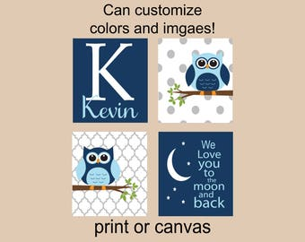 owl nursery decor owl nursery wall decor personalized nursery wall art dream big little one blue and gray owl nursery theme baby boy owls