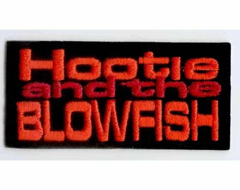 Hootie and the Blowfish Band Patch - Early 1990s Rock Stars - Feel Good Music Applique for Jacket - Darius Rucker 90s Band - 46940