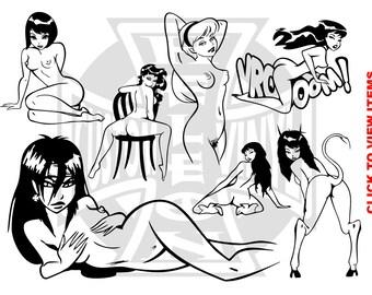 Erotic Decals