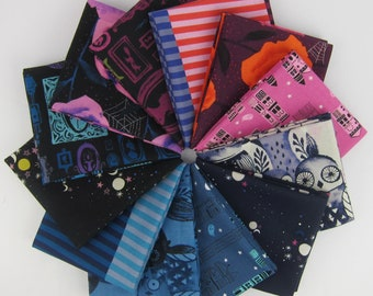 Eclipse COTTON Fat Quarter Bundle by Cotton and Steel - 12 Fat Quarters - 3 Yards Total