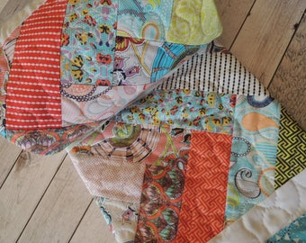 Sundance Quilt, Baby Quilt, Lap Quilt, Ready to Ship