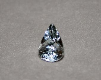 Faceted Aquamarine Gemstone, Aquamarine Gemstone, Faceted Aquamarine, Pear Shape Loose Gem, Jewelry Making Supply, Aquamarine, Ring Gemstone