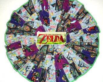 Legend of Zelda Birthday Party Outfit Twirl Skirt for Girls Clothing Zelda Dress 4T 5 6 7 8 10 12 14