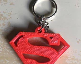 3D Printed Superman Keychain