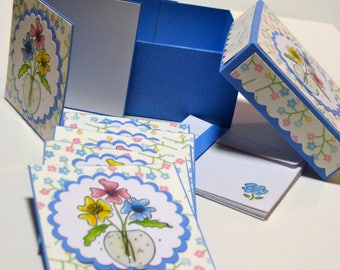 Note Cards with Envelopes 3 X 3 ** Set of 6 in Box