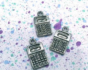 Calculator - 4 pieces-(Antique Pewter Silver Finish)