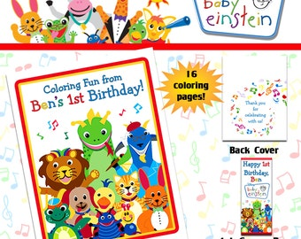 Baby Einstein Coloring Book with Crayons