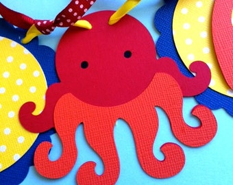 Under the Sea High Chair Banner