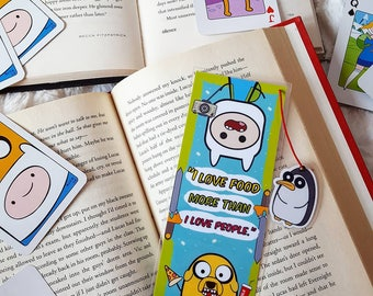 Adventure bookmark handmade