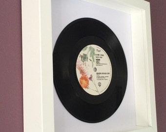"Prince ""When Doves Cry"" - Framed Original Vinyl Gift"