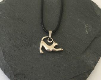 Cat necklace/ cat jewellery/ pet jewellery / animal jewellery/ cat lover gift / animal lover gift