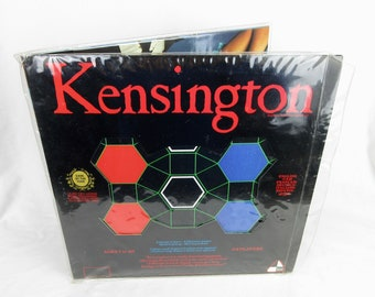 Vintage 1979 Board Game, Kensington / English, French, German, Italian, Japanese, Spanish Multi Lingual / International Game of Intrigue
