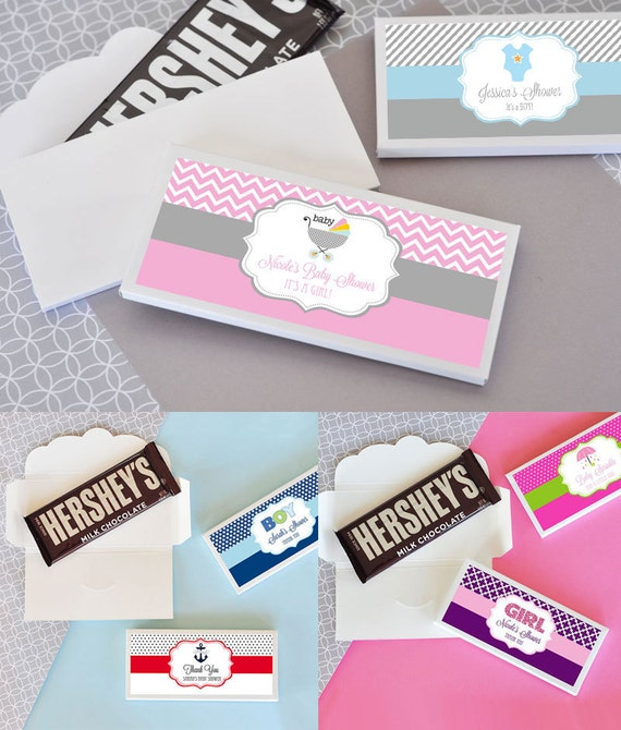 personalized chocolate bars wrapper
